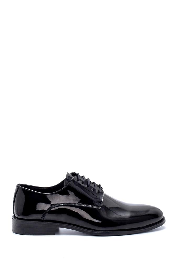 Siyah Erkek Deri Rugan Klasik Ayakkabı 5638218800