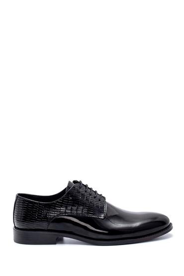 Siyah Erkek Deri Rugan Klasik Ayakkabı 5638218786