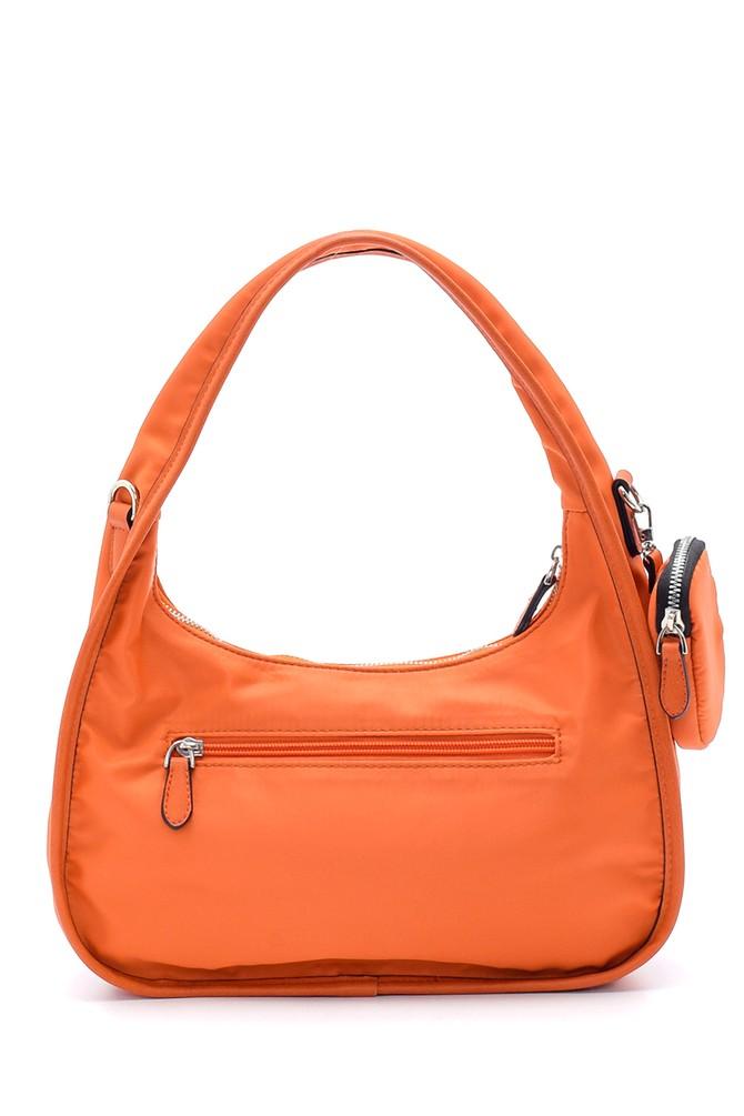 5638195351 Kadın Bozuk Para Cüzdanlı Baget Çanta