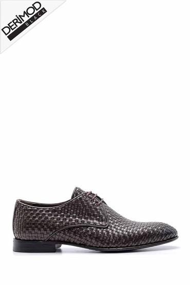 Kahverengi Erkek Deri Klasik Ayakkabı 5638162773