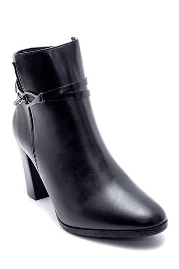 Siyah Kadın Topuklu Bot 5638178343
