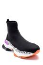 5638183733 Kadın Kalın Renkli Tabanlı Çorap Bot