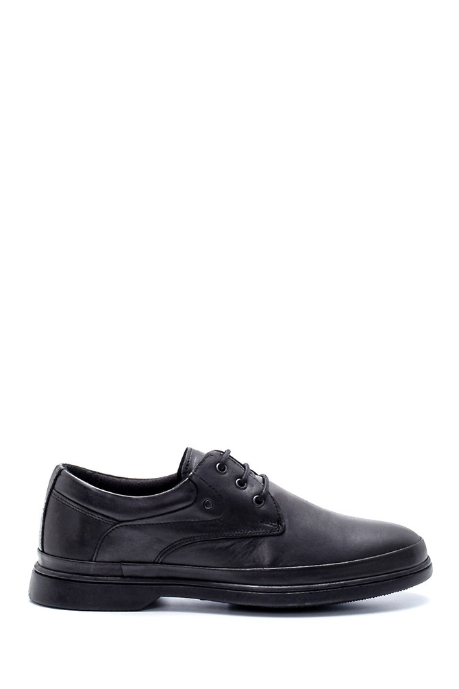 Siyah Erkek Deri Casual Ayakkabı 5638197370
