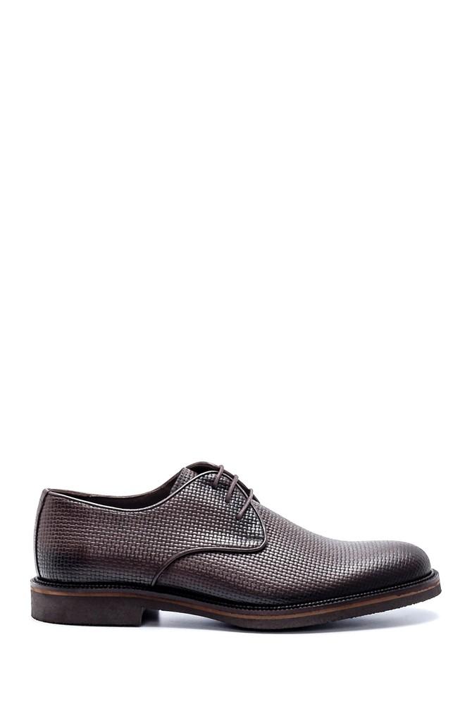 Kahverengi Erkek Deri Klasik Ayakkabı 5638200076