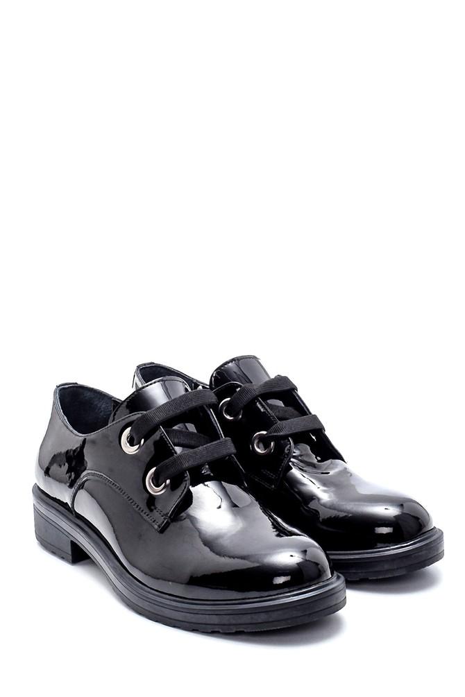 5638202466 Kadın Deri Rugan Ayakkabı