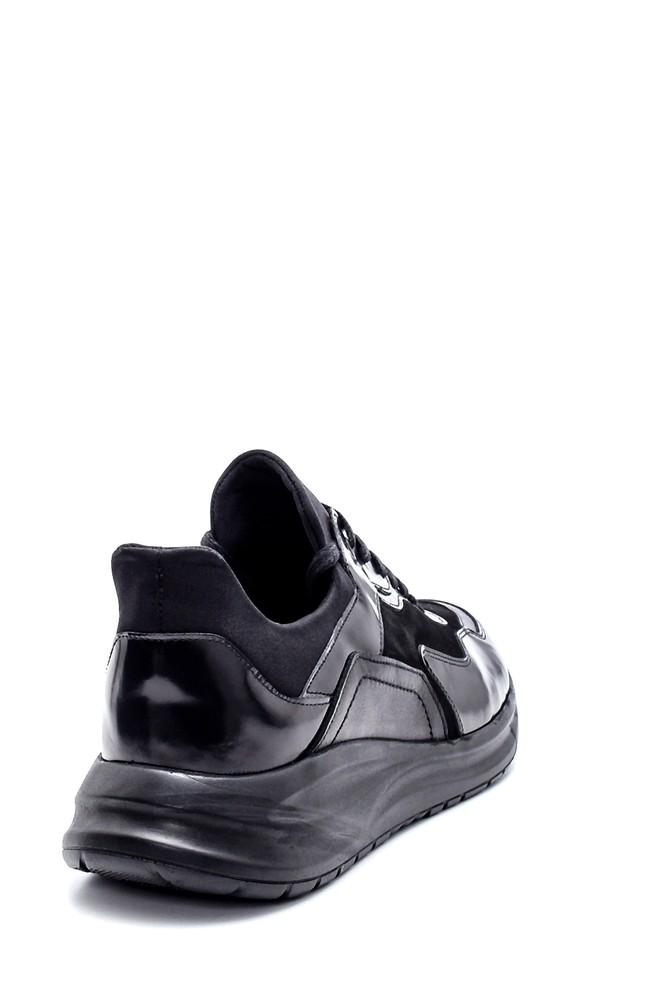 5638204015 Erkek Deri Sneaker