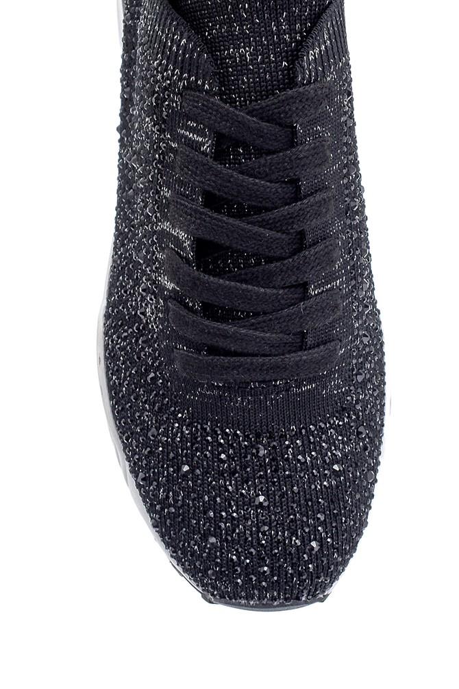 5638206334 Kadın Bağcıklı Çorap Sneaker