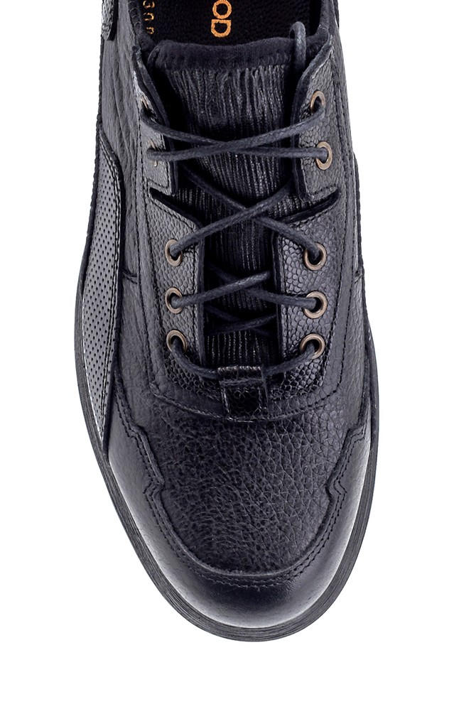 5638208234 Erkek Deri Sneaker