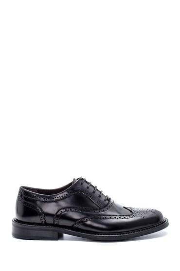 Siyah Erkek Deri Klasik Ayakkabı 5638213607