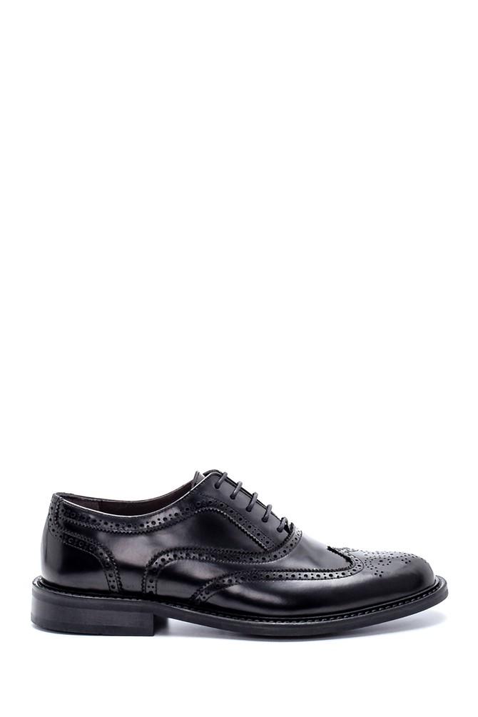 Siyah Erkek Deri Klasik Ayakkabı 5638213617