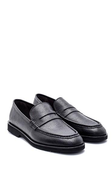 Siyah Erkek Deri Casual Ayakkabı 5638213634