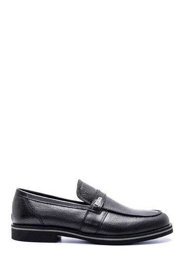 Siyah Erkek Deri Casual Ayakkabı 5638213666