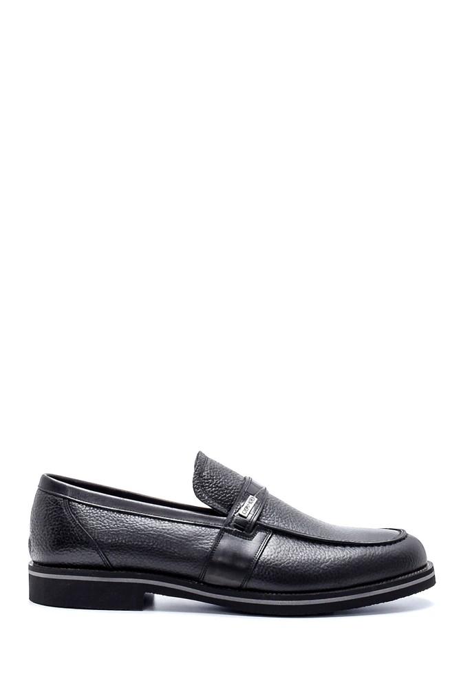 Siyah Erkek Deri Casual Ayakkabı 5638213676