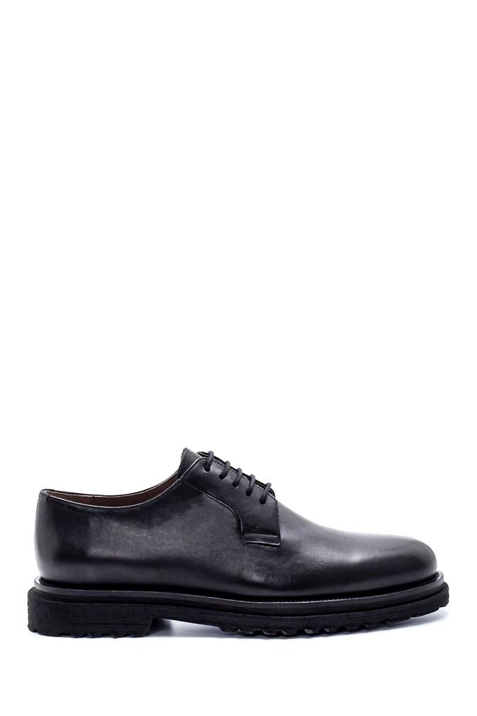 Siyah Erkek Deri Klasik Ayakkabı 5638215075