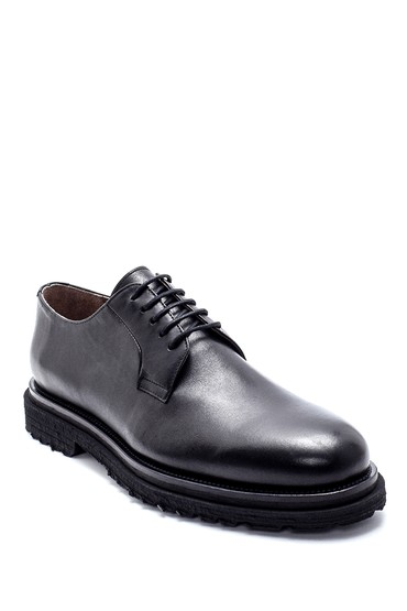 Siyah Erkek Deri Klasik Ayakkabı 5638215077