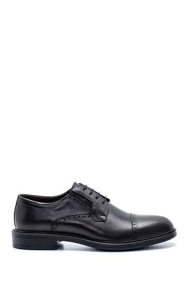 Siyah Erkek Deri Klasik Ayakkabı 5638216429
