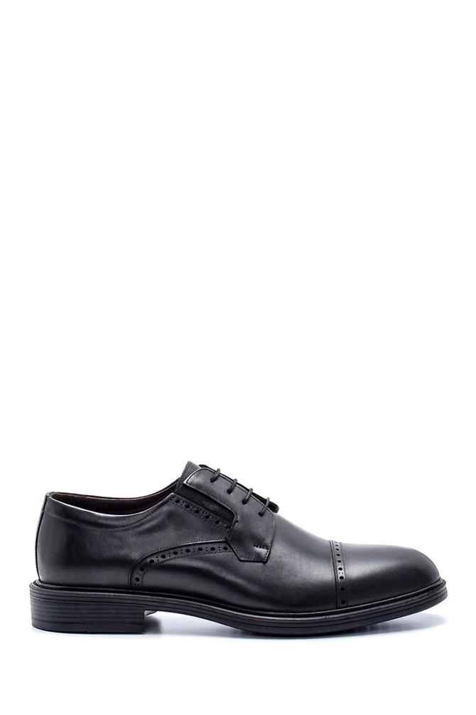 Siyah Erkek Deri Klasik Ayakkabı 5638216433