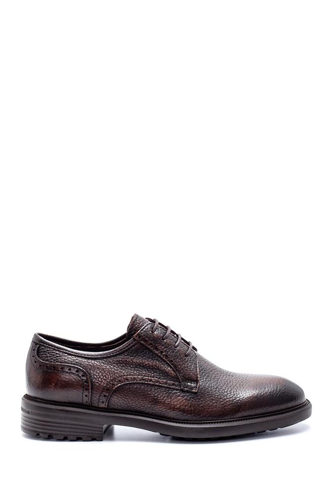 Kahverengi Erkek Deri Klasik Ayakkabı 5638218656