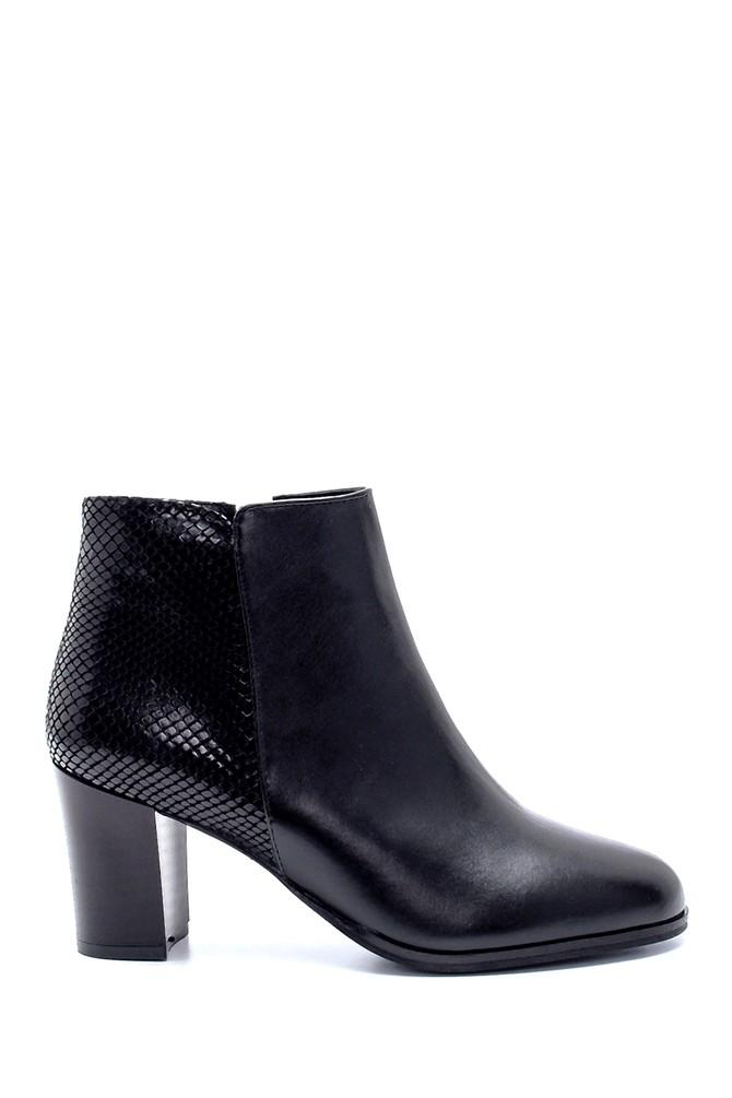 Siyah Kadın Topuklu Bot 5638213173