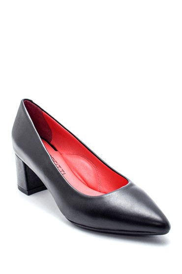 Siyah Kadın Gritti for Derimod Topuklu Ayakkabı 5638218013