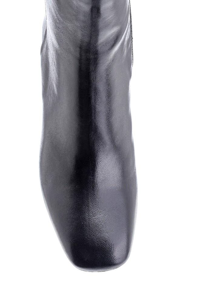 5638218097 Kadın Deri Topuklu Bot
