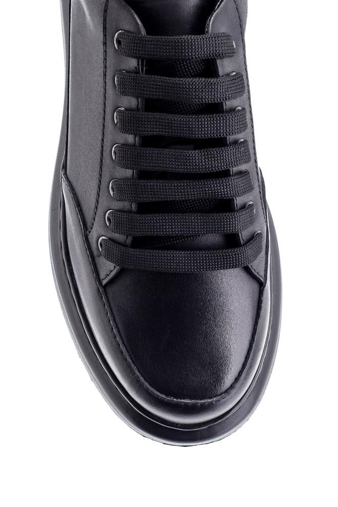 5638234489 Kadın Deri Sneaker