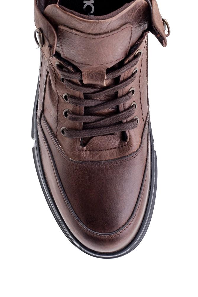 5638197303 Erkek Deri Sneaker