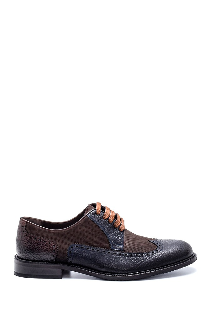 Siyah Erkek Deri Klasik Ayakkabı 5638199889