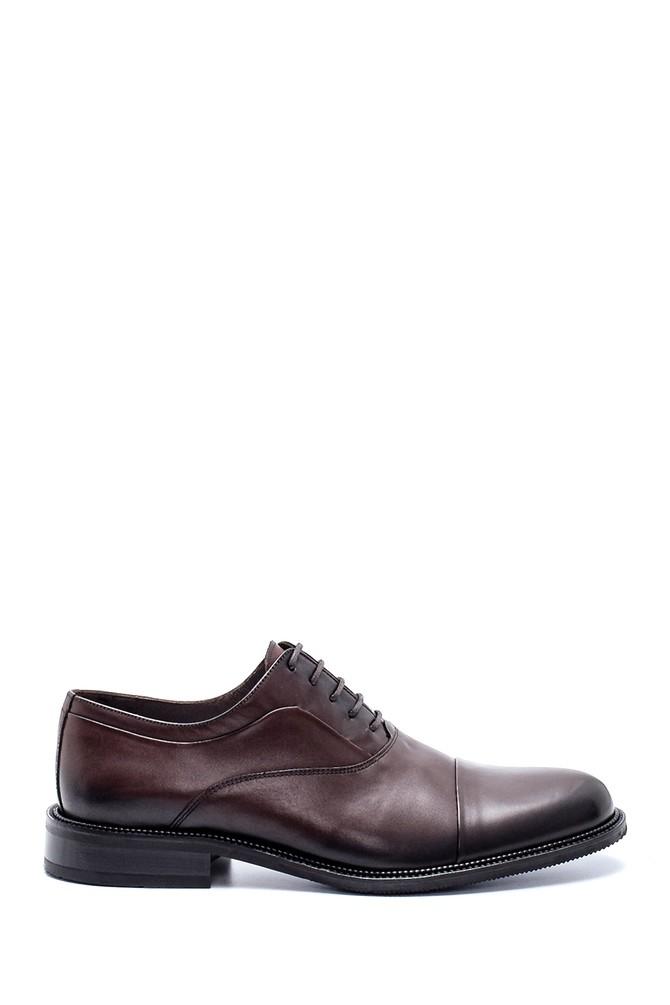 Kahverengi Erkek Deri Klasik Ayakkabı 5638199986