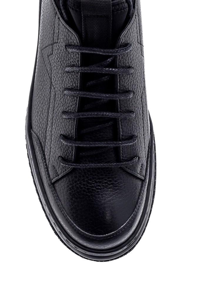 5638216490 Erkek Deri Sneaker