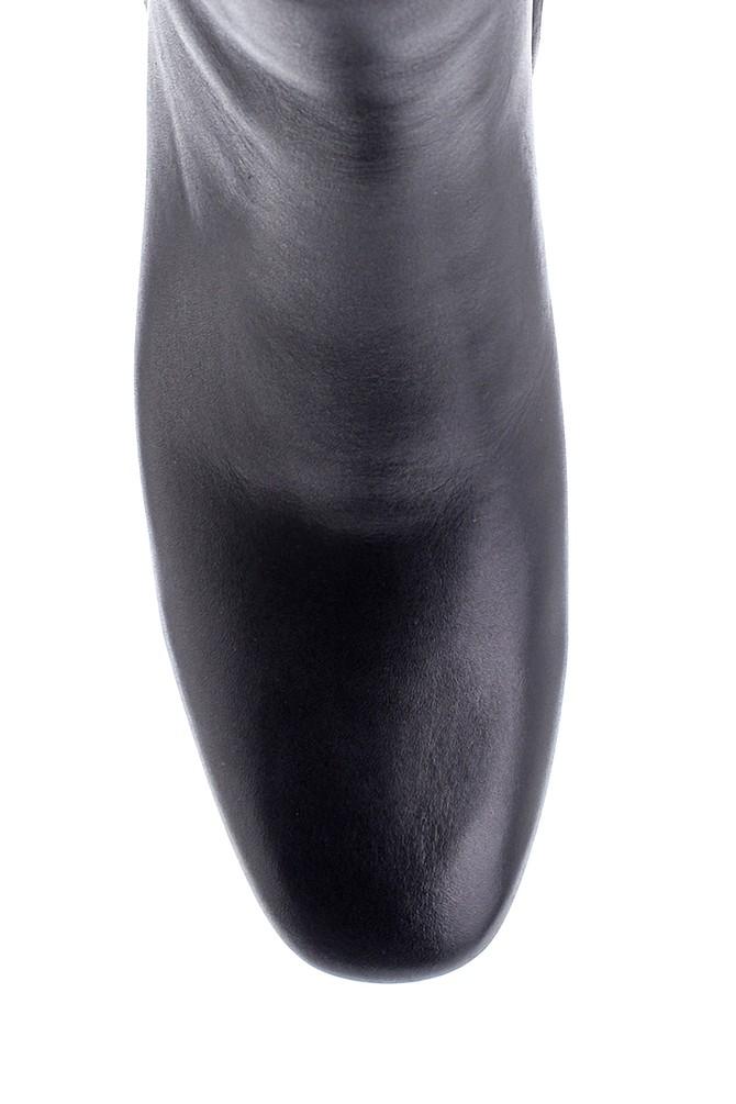 5638216786 Kadın Deri Topuklu Bot