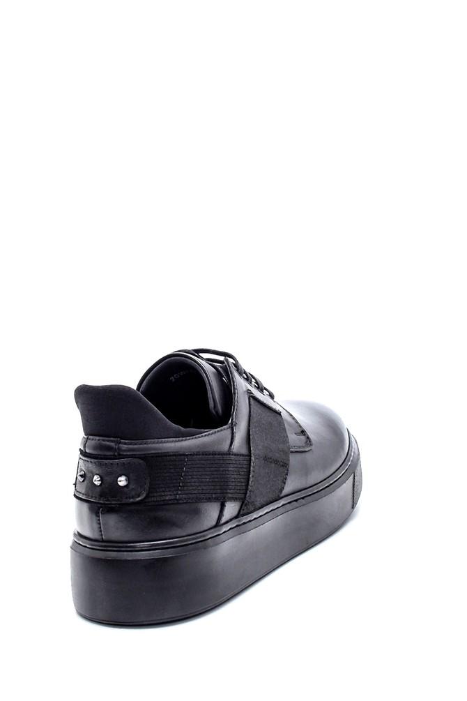 5638218587 Erkek Deri Sneaker