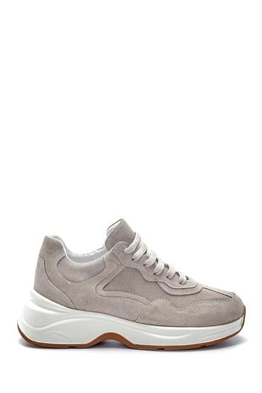 Bej Kadın Süet Sneaker 5638216544