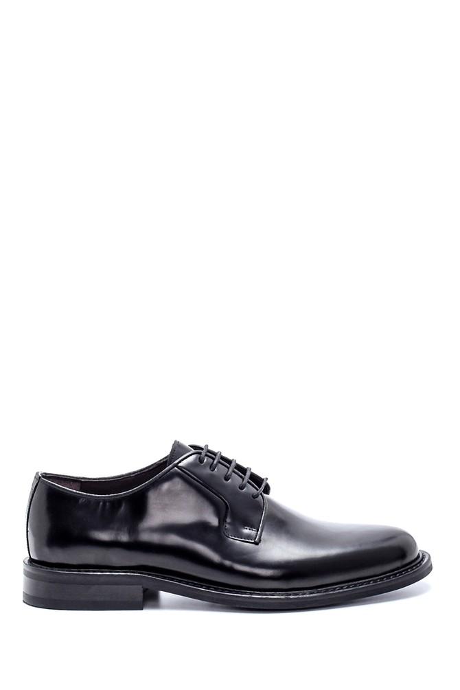 Siyah Erkek Deri Klasik Ayakkabı 5638230597
