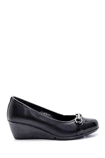 Siyah Kadın Dolgu Topuklu Ayakkabı 5638199534