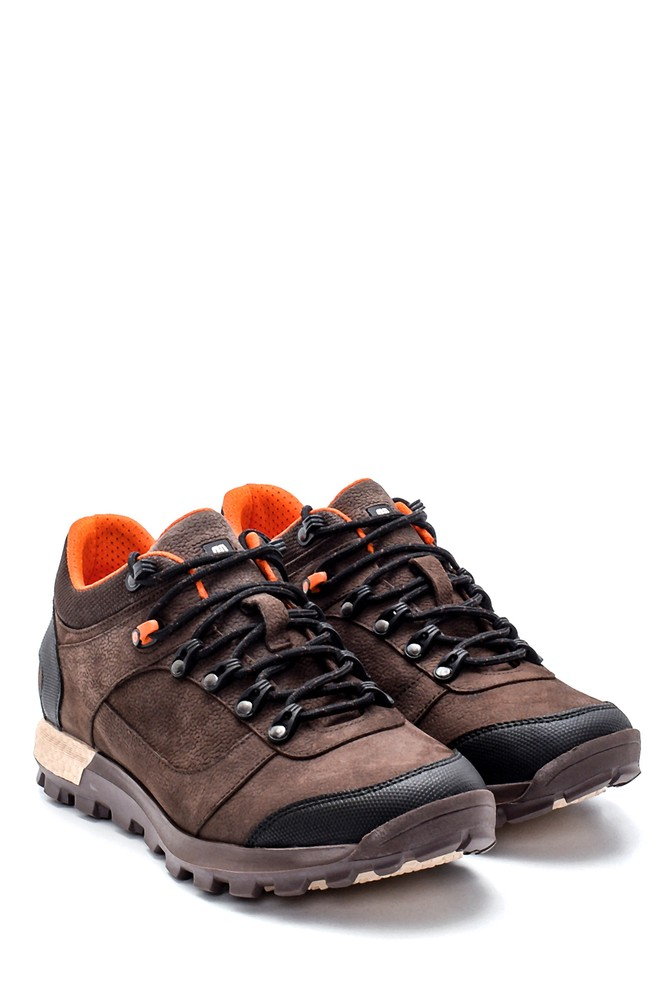 5638204707 Erkek Nubuk Sneaker