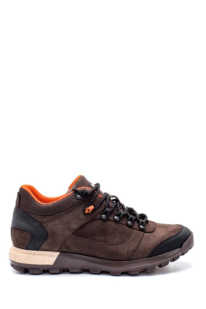 Kahverengi Erkek Nubuk Sneaker 5638204707