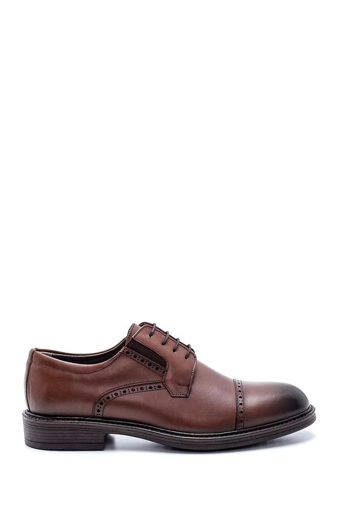 Kahverengi Erkek Deri Klasik Ayakkabı 5638216447