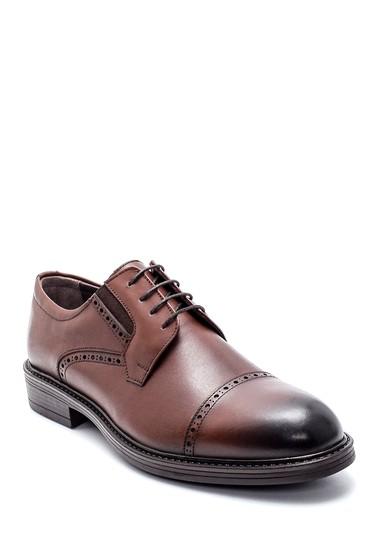 Kahverengi Erkek Deri Klasik Ayakkabı 5638216435