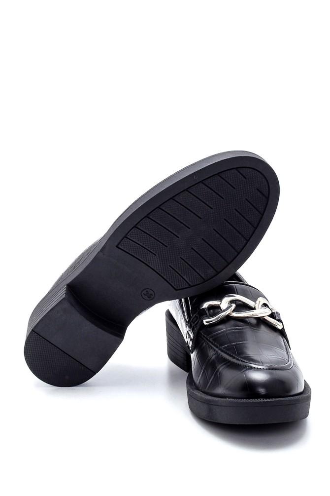 5638209169 Kadın Kroko Desenli Loafer