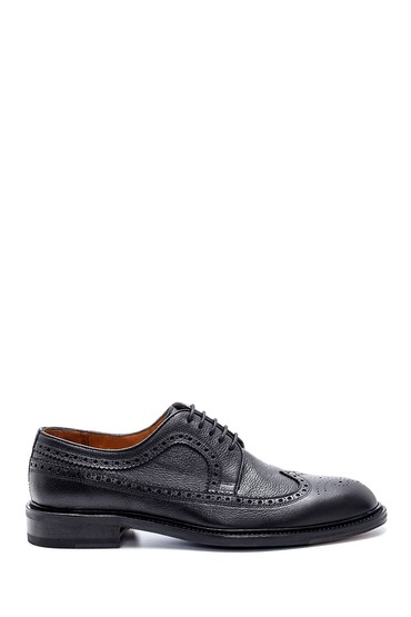 Siyah Erkek Deri Klasik Ayakkabı 5638230717