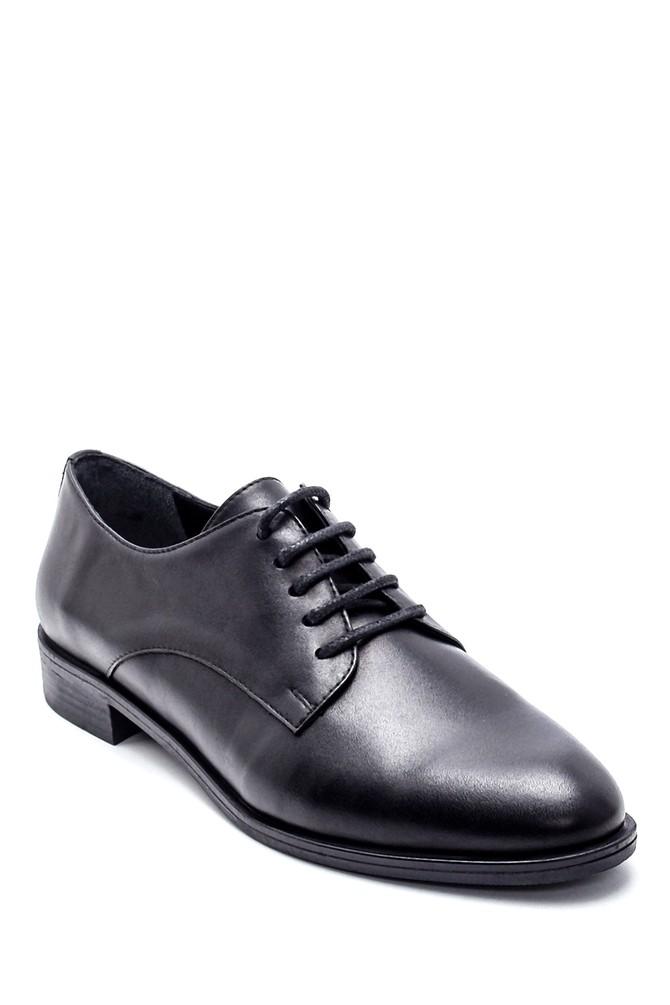 5638234804 Kadın Deri Klasik Ayakkabı