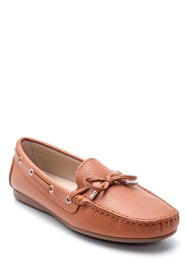 Kahverengi Kadın Deri Loafer 5638229889