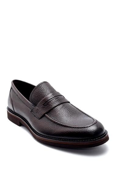 Kahverengi Erkek Deri Klasik Ayakkabı 5638200227