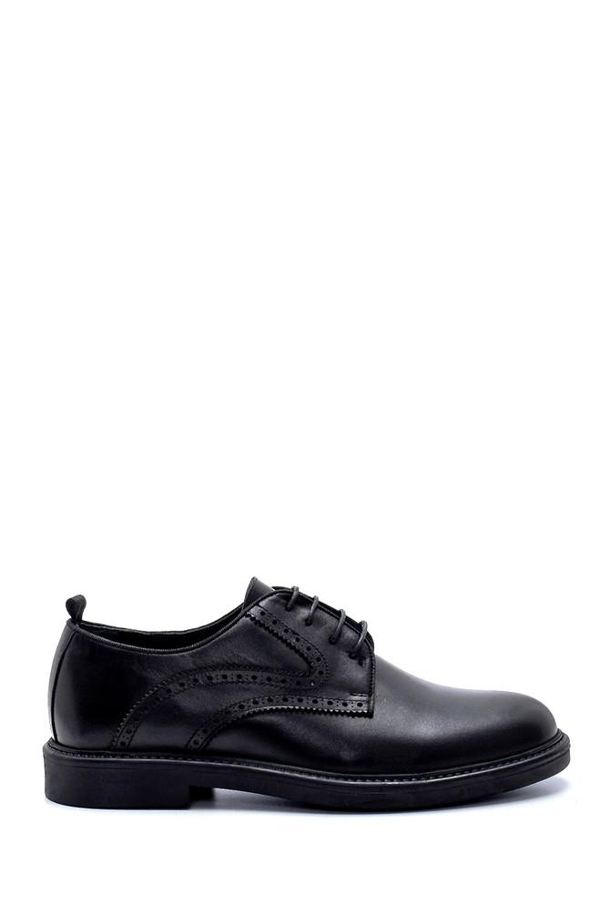 Siyah Erkek Deri Ayakkabı 5638207795
