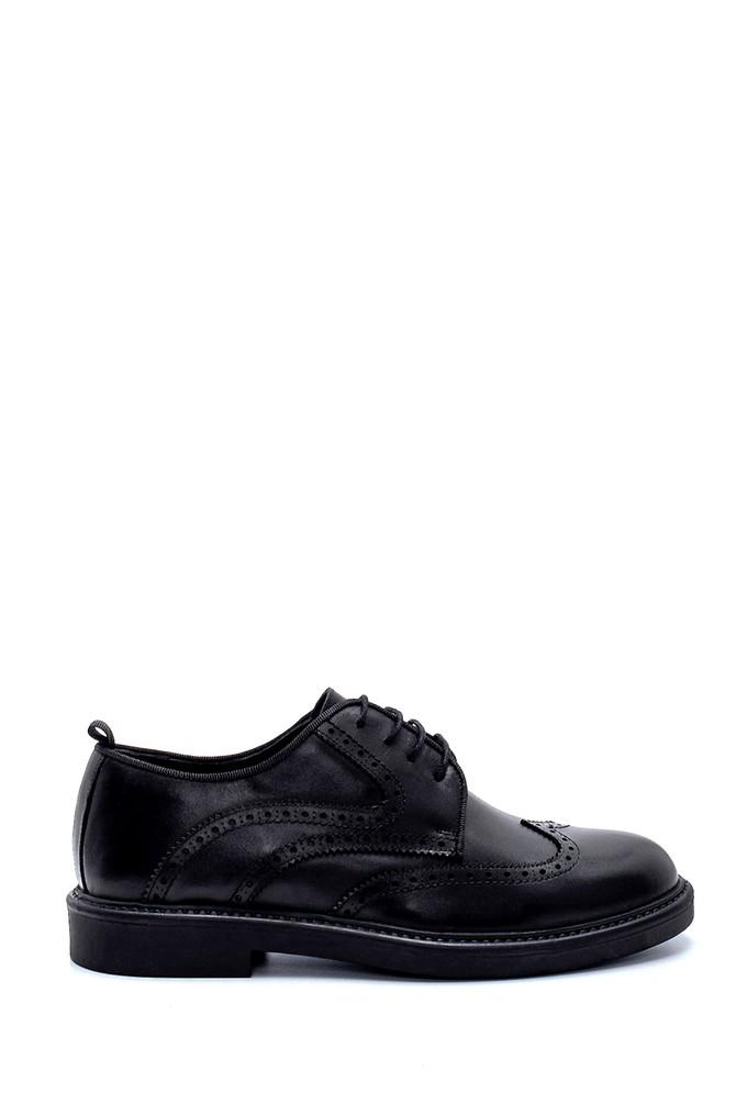 Siyah Erkek Deri Ayakkabı 5638207820