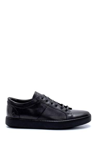Siyah Erkek Deri Sneaker 5638218617
