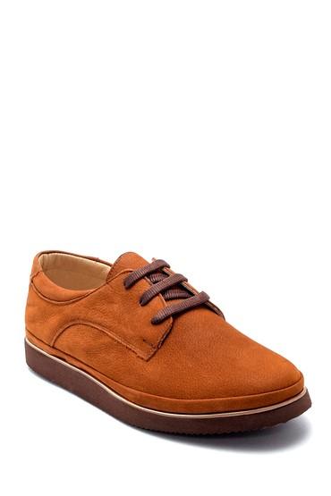 Kahverengi Kadın Nubuk Casual Ayakkabı 5638212112