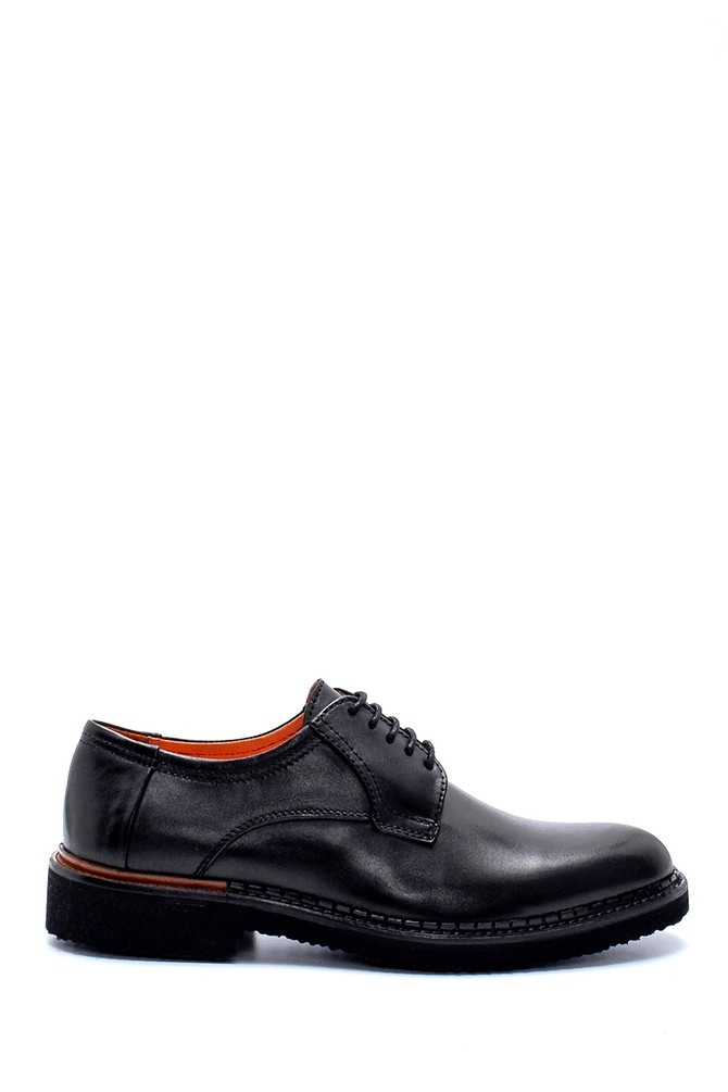 Siyah Erkek Deri Klasik Ayakkabı 5638236945