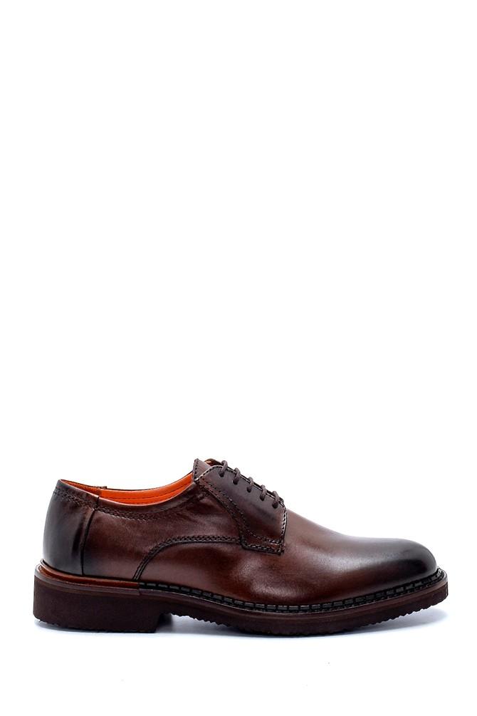 Kahverengi Erkek Deri Klasik Ayakkabı 5638236987
